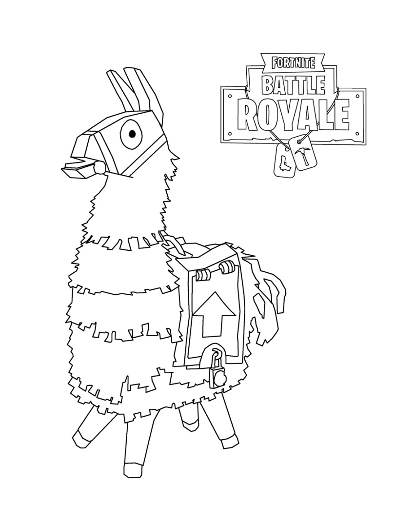 Top 20 Printable Fortnite Coloring Pages