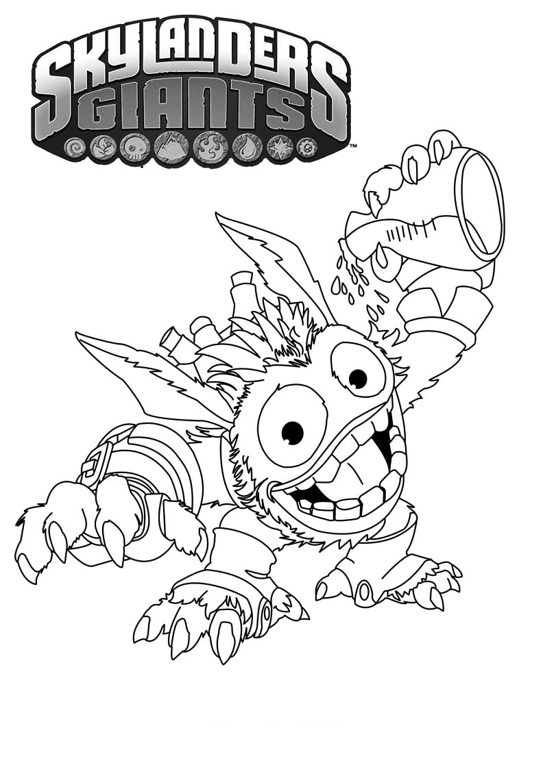 Printable Skylanders Coloring Pages | Star coloring pages ... | 1120x792