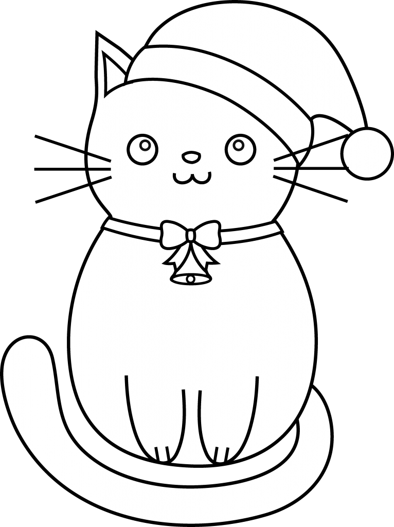 Top 20 Printable Cats Coloring Pages