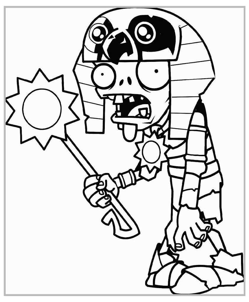 Top 20 Printable Plants Vs Zombies Coloring Pages Online Coloring Pages