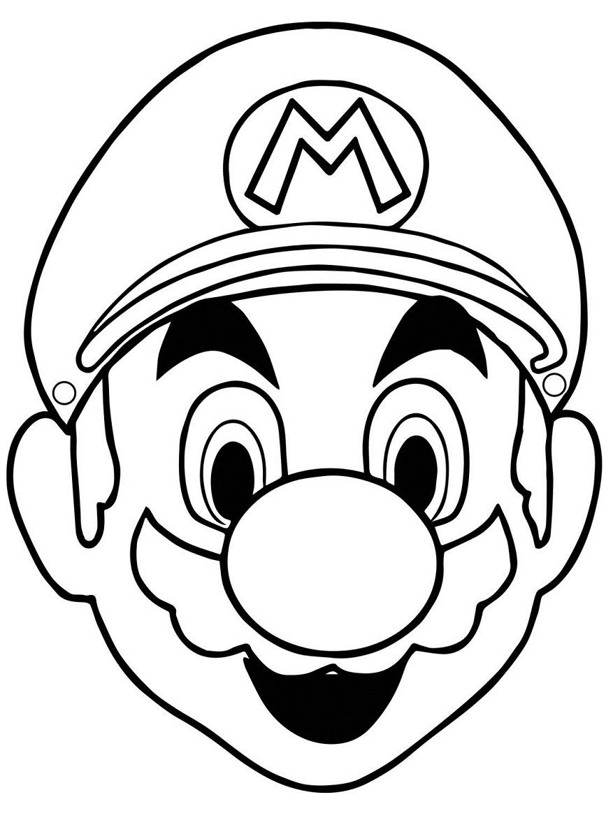 Top 20 Printable Super Mario Coloring Pages