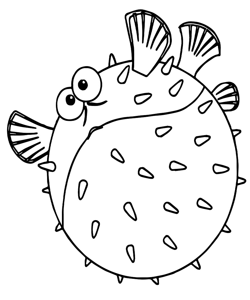 Top 20 Printable Fish Coloring Pages Online Coloring Pages