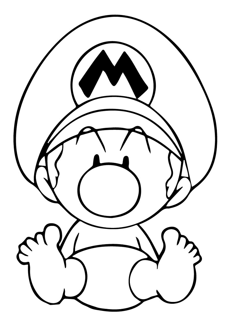 Top 20 Printable Super Mario Coloring Pages Online Coloring Pages