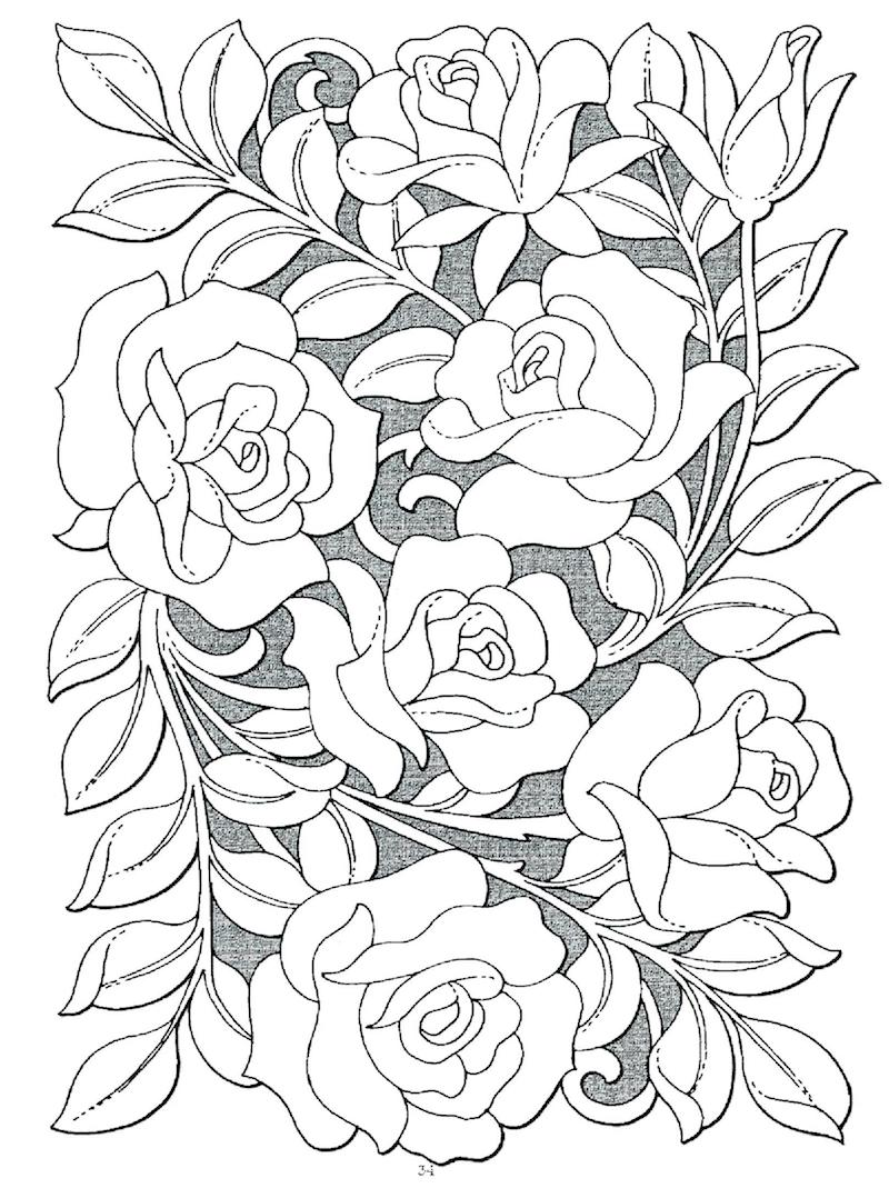 - Top 20 Printable Roses Coloring Pages - Online Coloring Pages