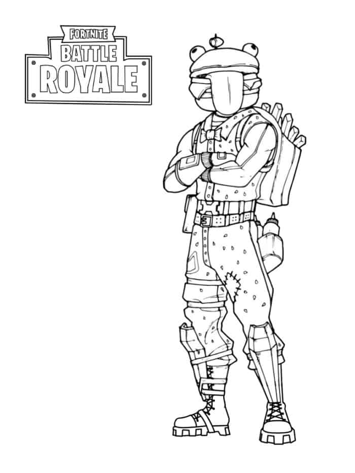 Fortnite coloring pages | Coloring pages, Free kids coloring pages ... | 933x700