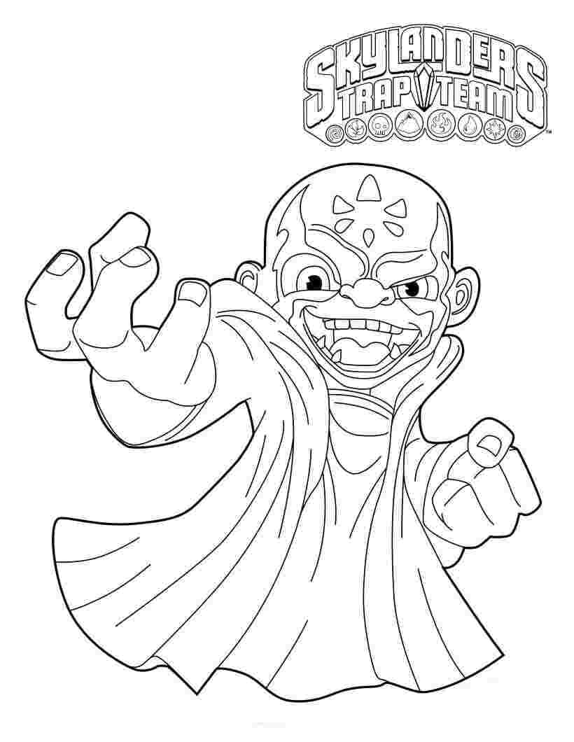 Skylanders Coloring Pages : Free Skylanders Coloring Pages to ... | 1060x820