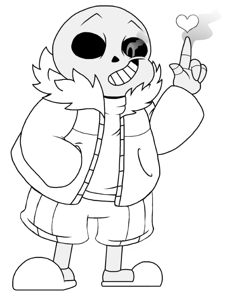 Top 20 Printable Undertale Coloring Pages