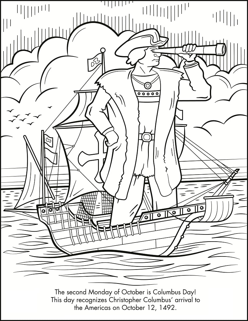Top 16 Printable Famous Explorers Coloring Pages
