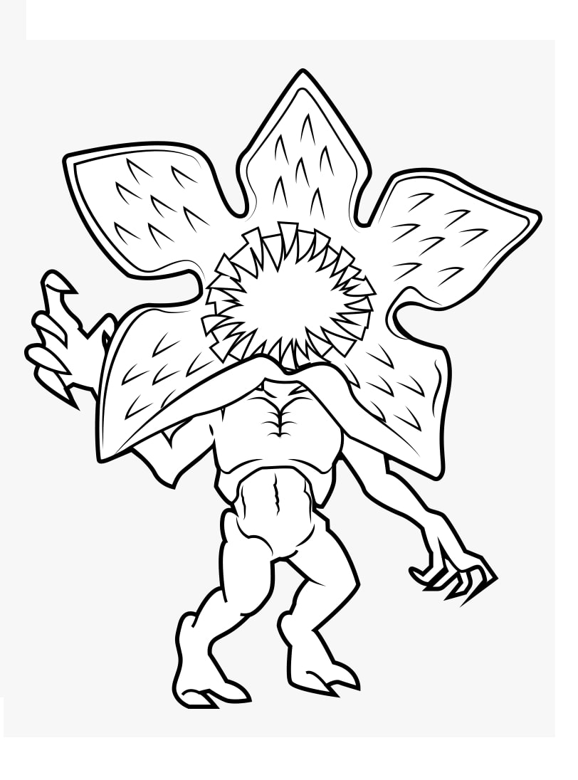 Top 32 Printable Stranger Things Coloring Pages   Online Coloring ...