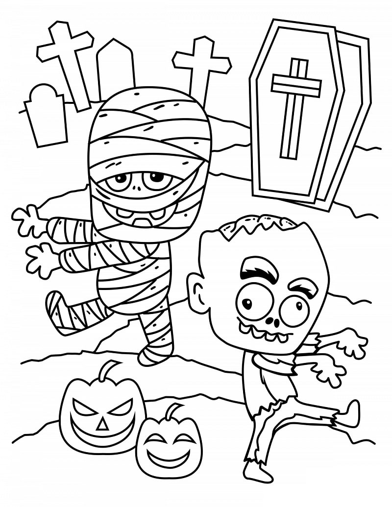 - Top 20 Printable Halloween Coloring Pages - Online Coloring Pages