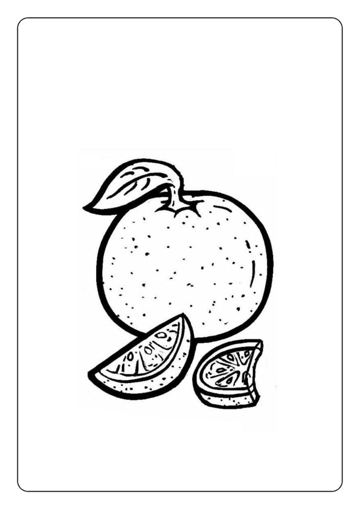 Desene De Colorat Cu Fructe 3 Online Coloring Pages