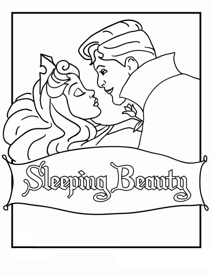 Top 20 Printable Aurora Coloring Pages