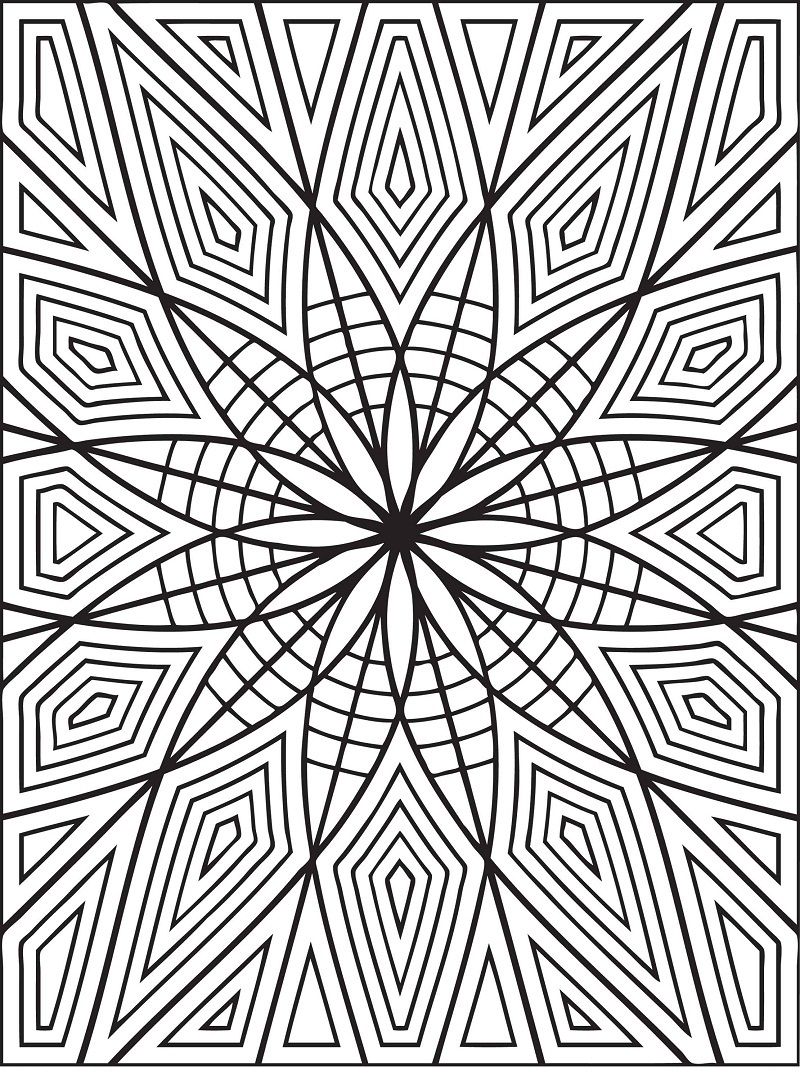 Top 20 Printable Pattern Coloring Pages