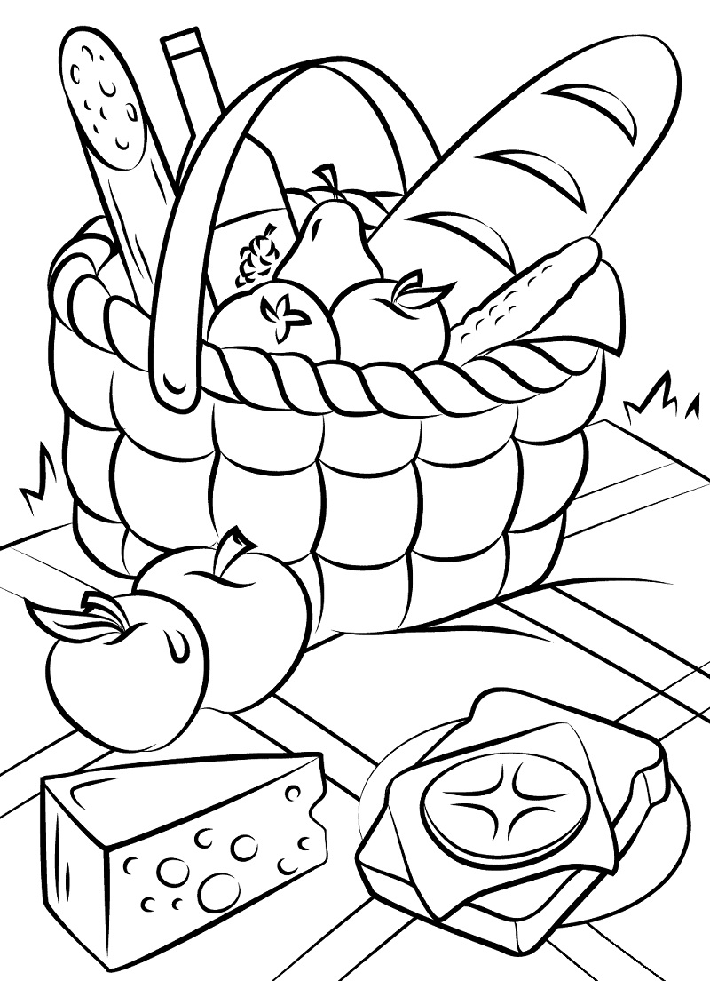 Top 20 Printable Food Coloring Pages Online Coloring Pages
