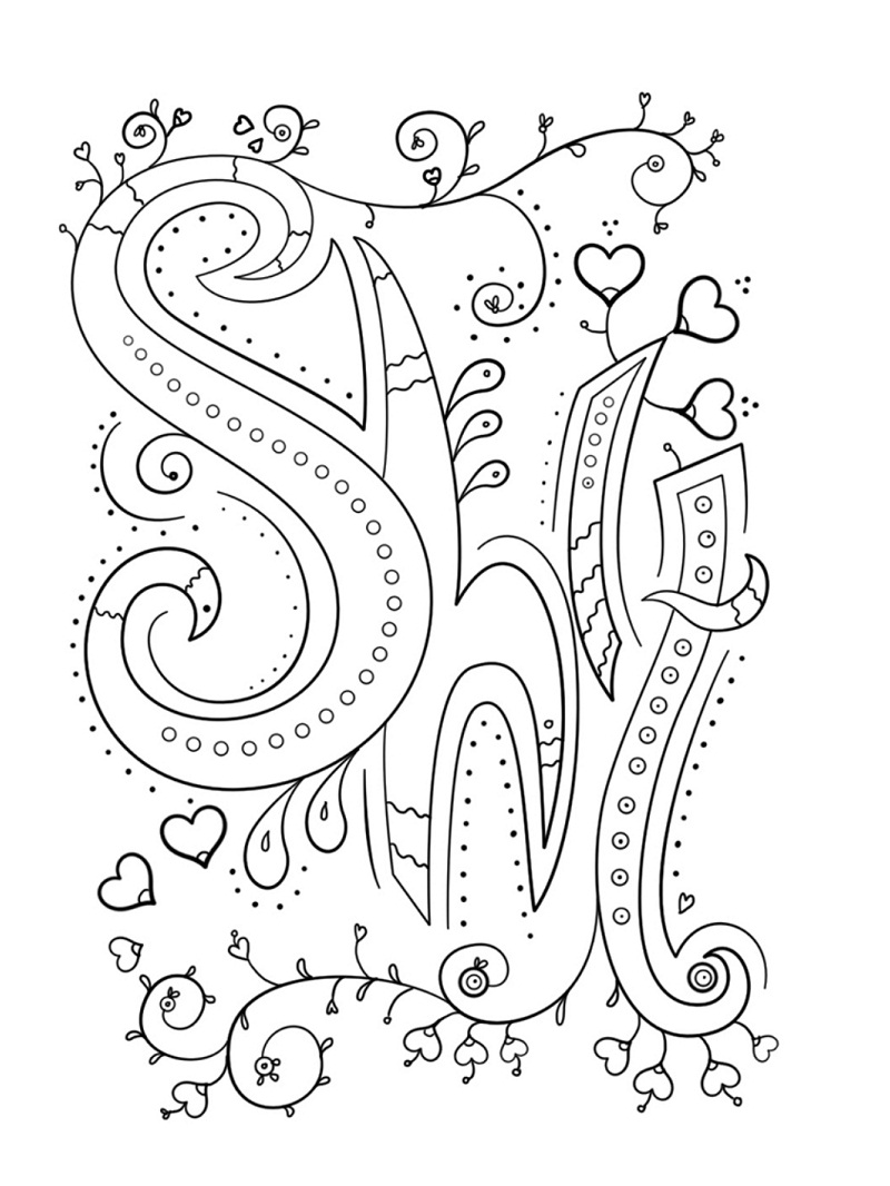 Top 20 Printable Swear Words Coloring Pages - Online ...