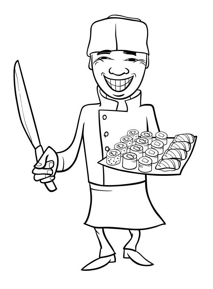 Top 20 Printable Japan Coloring Pages