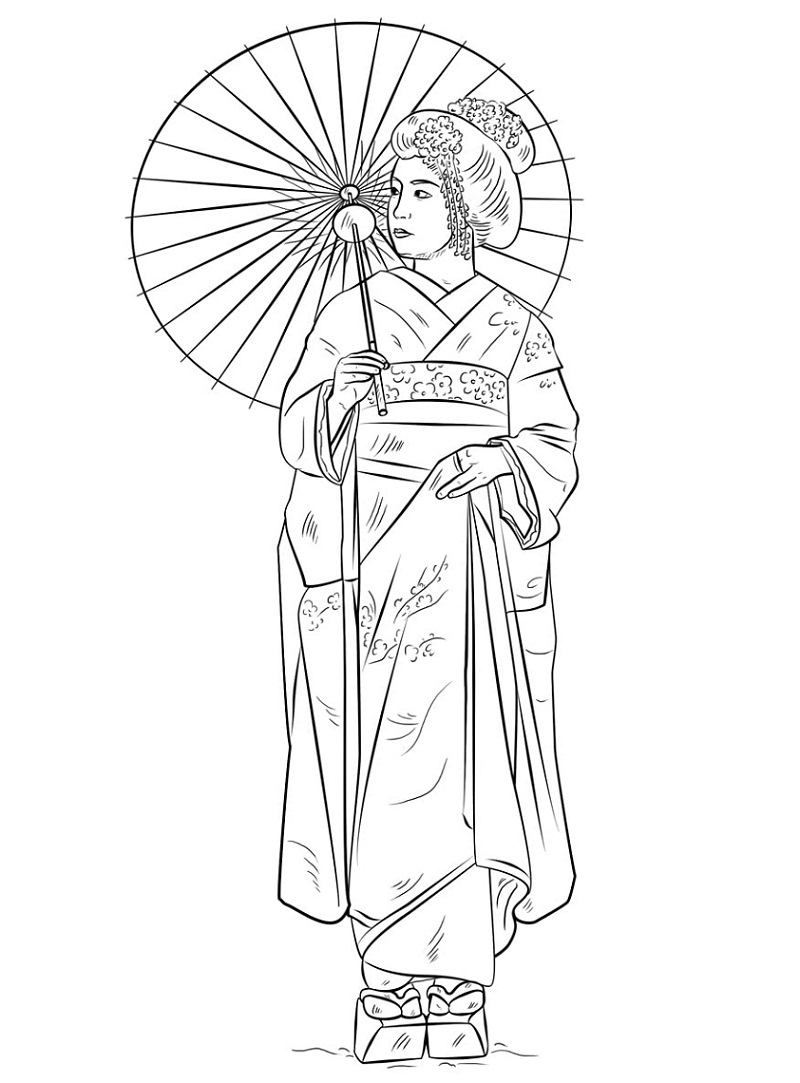 Coloring page for adults. Digital coloring page. Japanese   Etsy ...   1083x800