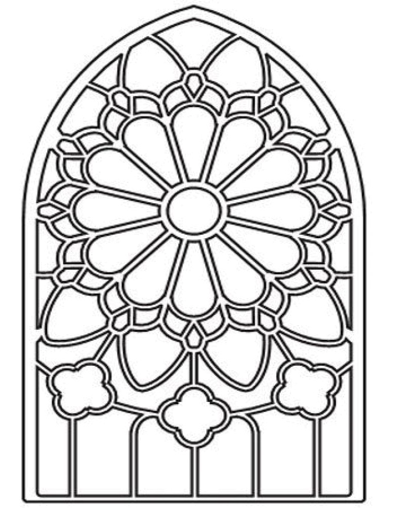 Christmas Cheer! Stained Glass Coloring Book (Holiday Stained ... | 1000x780