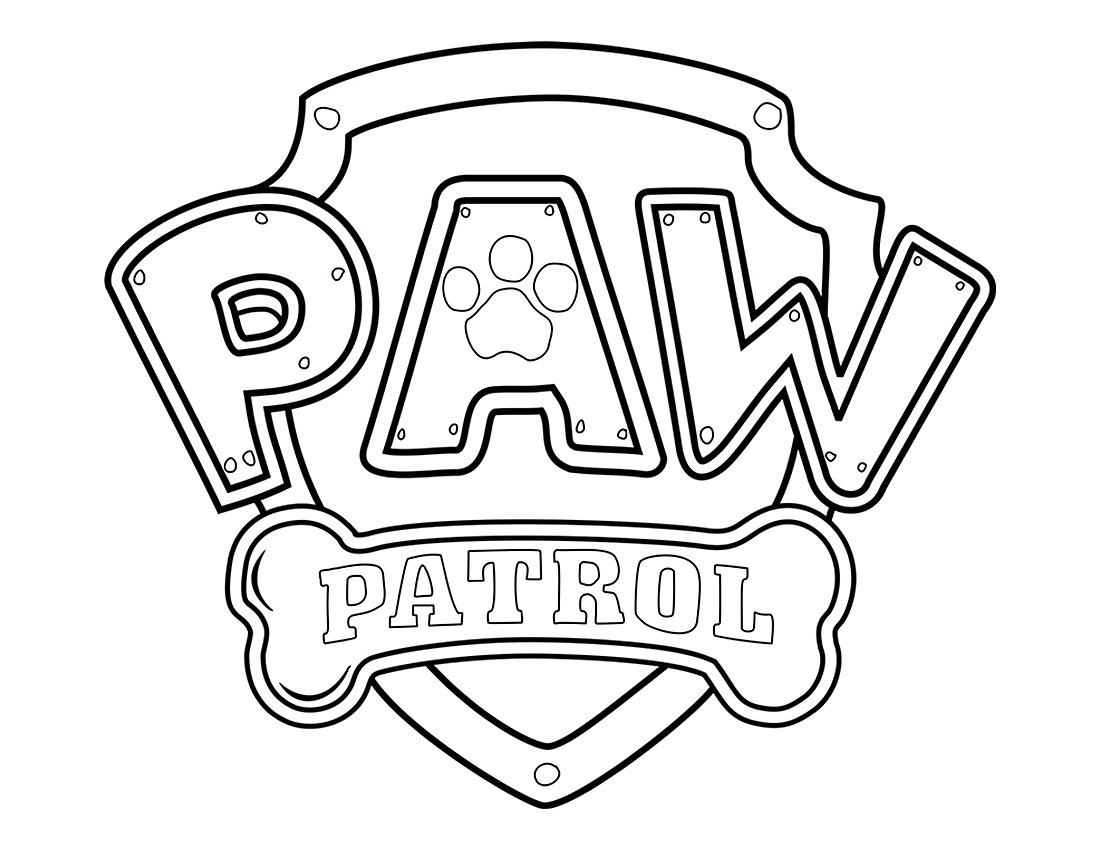 Top 20 Printable PAW Patrol Coloring Pages