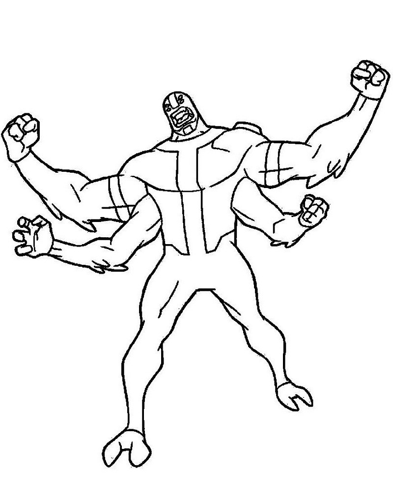 Ben 10 Coloring pages. Download or Print for free, 130 images   1024x800