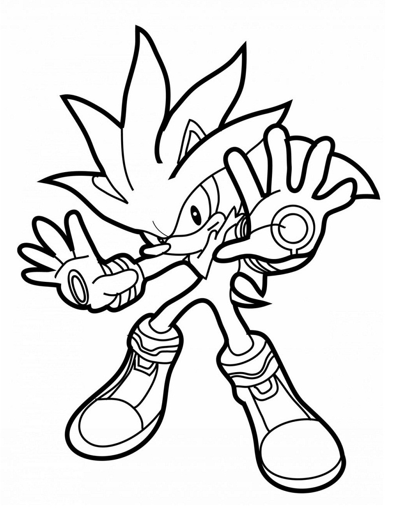 21 Sonic The Hedgehog Coloring Pages - Free Printable | 1060x800