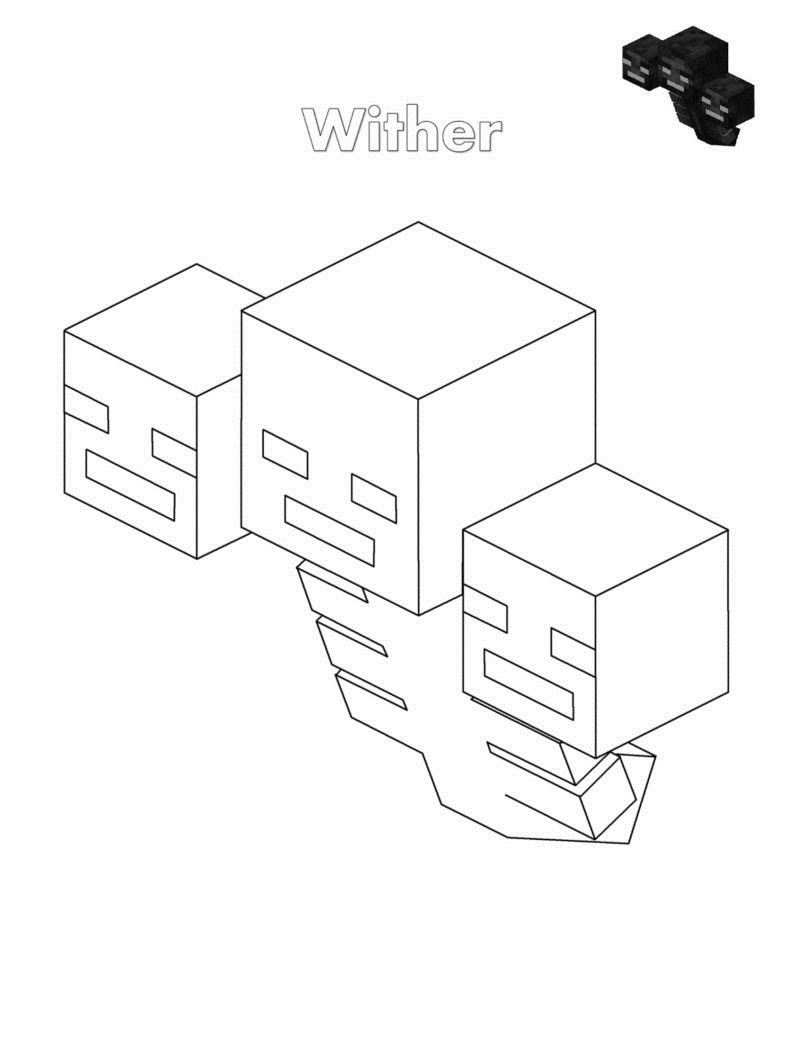 Top 20 Printable Minecraft Coloring Page - Online Coloring ...