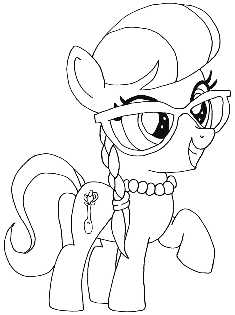 Top 20 Printable My Little Pony Coloring Pages