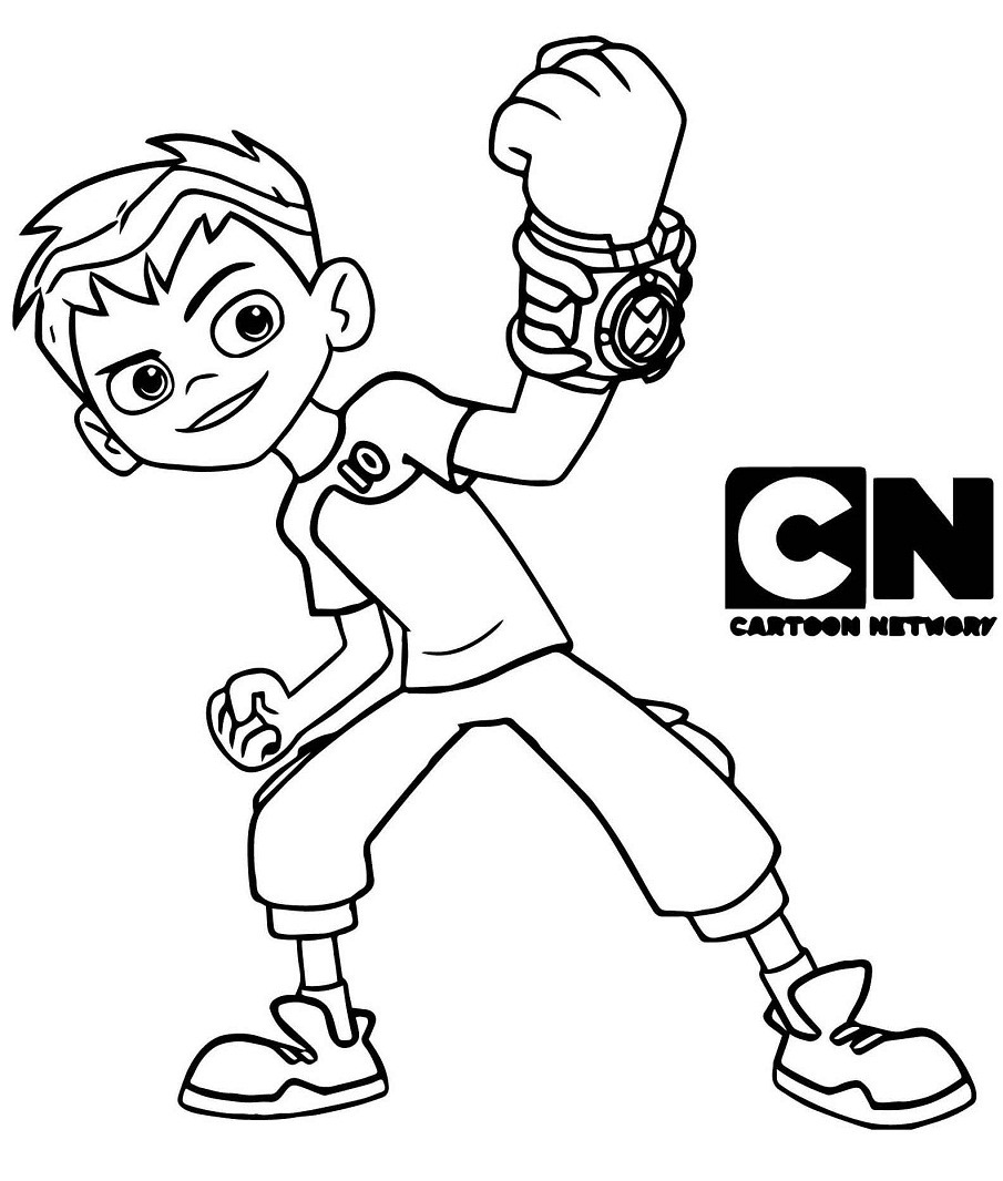 Top 20 Printable Ben 10 Coloring Pages