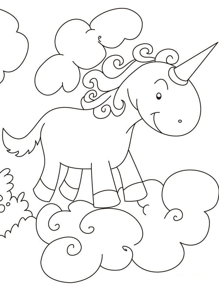 Top 20 Printable Unicorn Coloring Pages