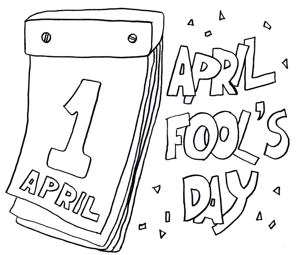 Top 20 Printable April Fool's Day Coloring Pages