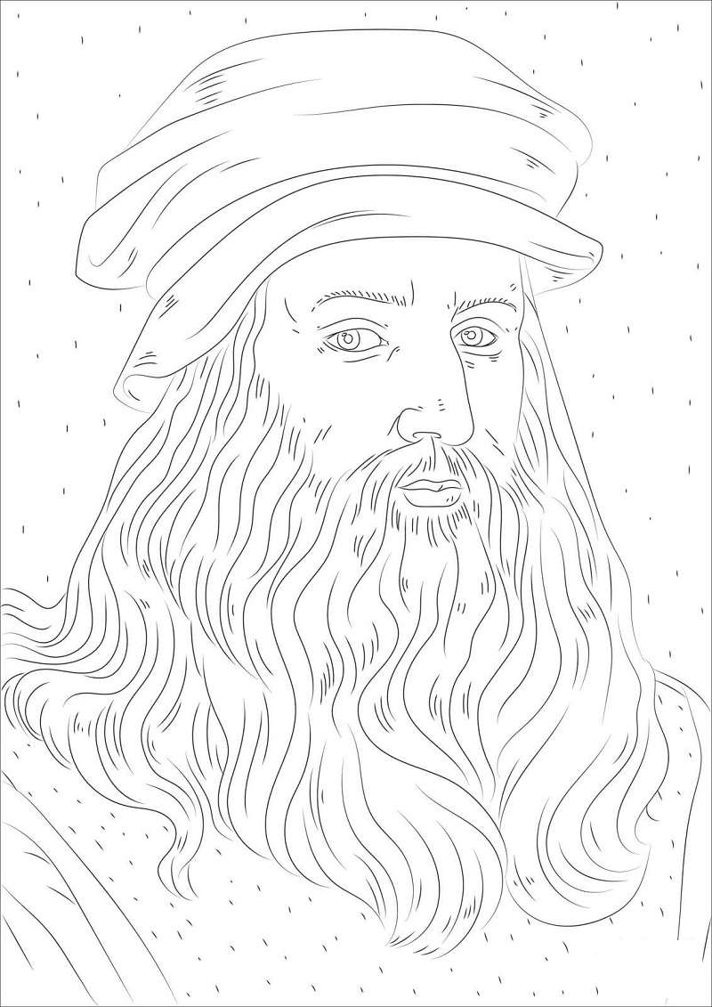 Top 20 Printable Historical Figures Coloring Pages