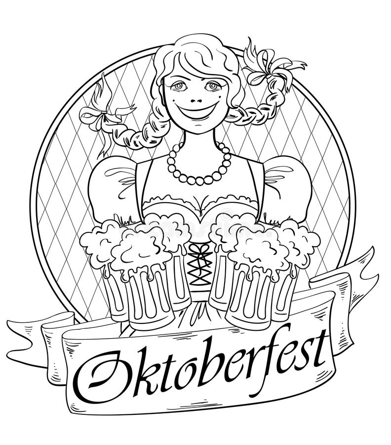 Top 20 Printable Oktoberfest Coloring Pages