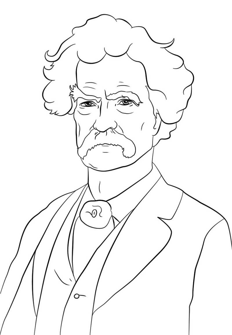 Top 20 Printable Writer and Poet Coloring Pages
