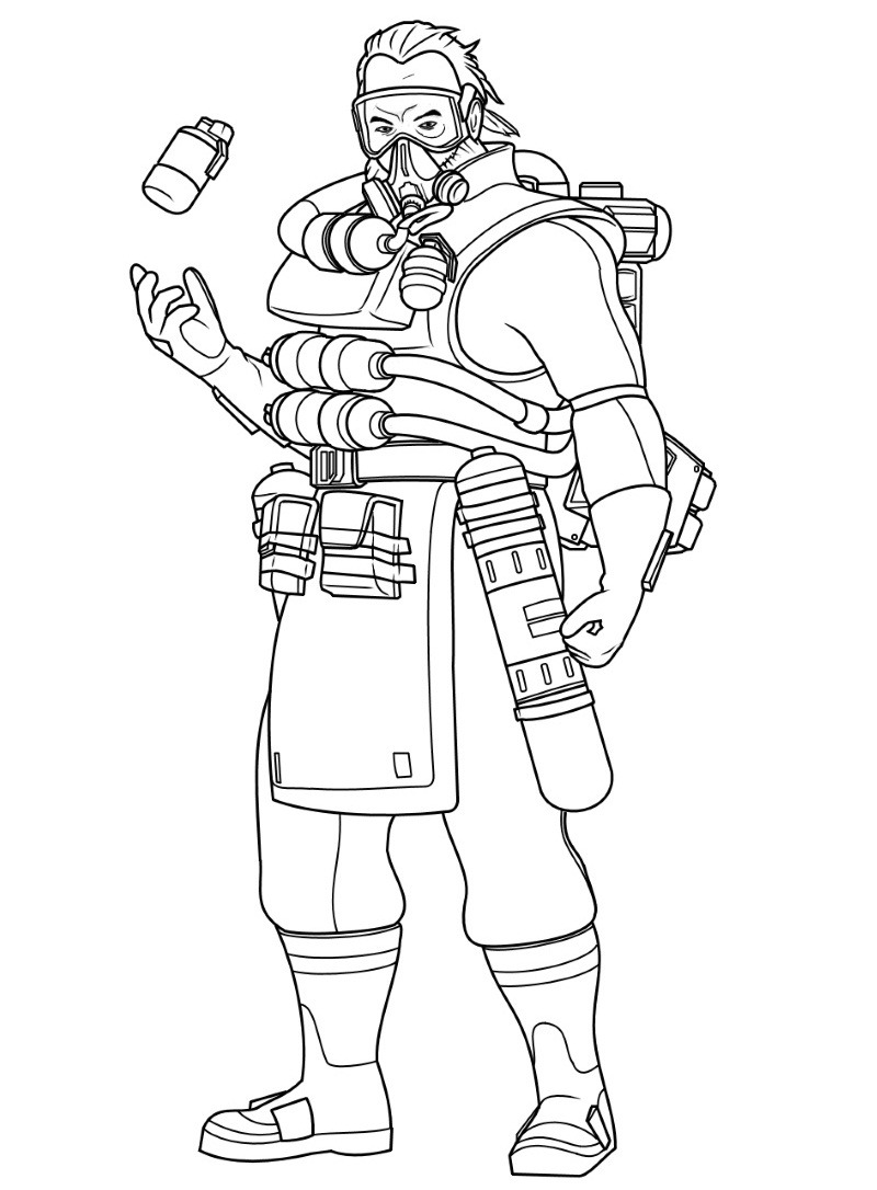 Top 18 Printable Apex Legends Coloring Pages Online Coloring Pages