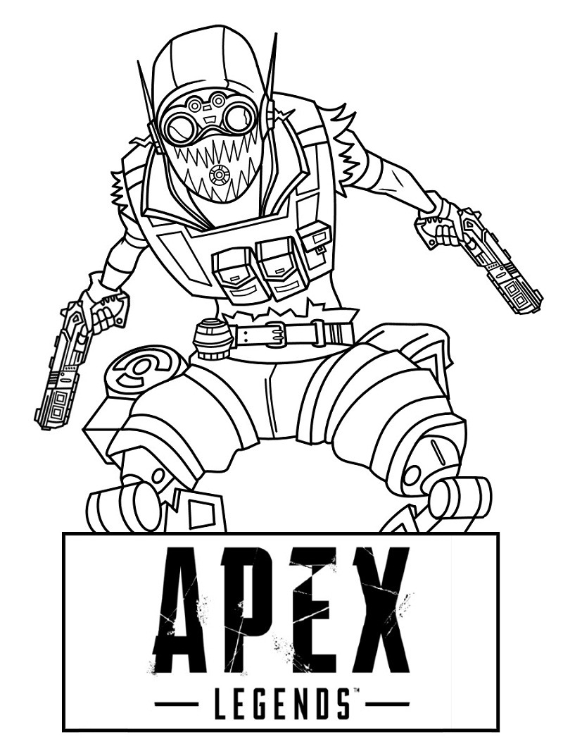 Top 18 Printable Apex Legends Coloring Pages