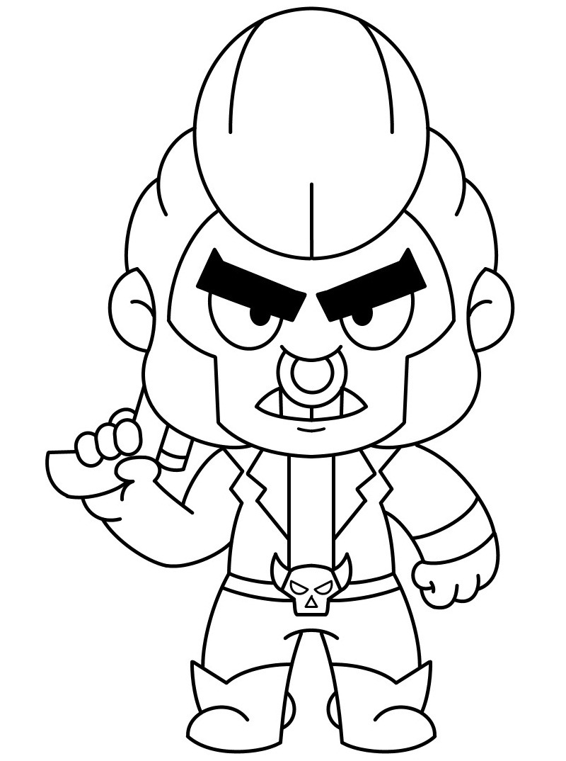 Top 20 Printable Brawl Stars  Coloring Pages