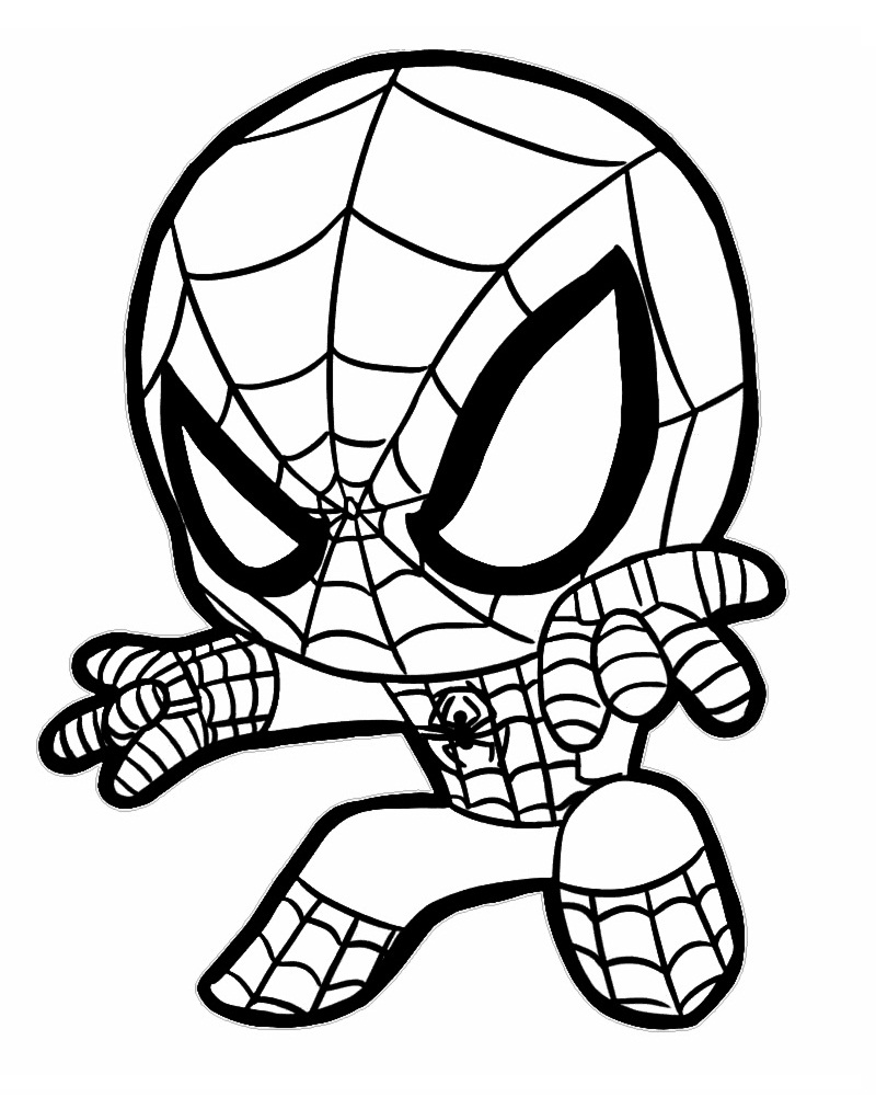 Top 20 Printable Spiderman Coloring Pages - Online ...
