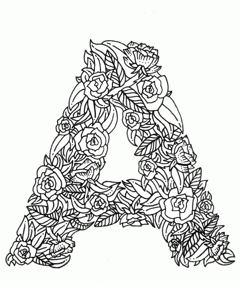Top 20 Printable Letter A Coloring Pages