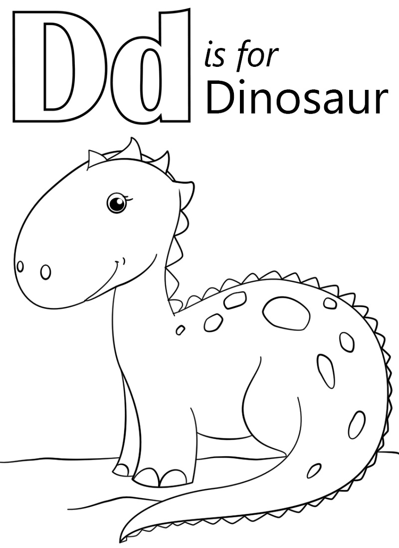 Top 20 Printable Letter D Coloring Pages Online Coloring Pages