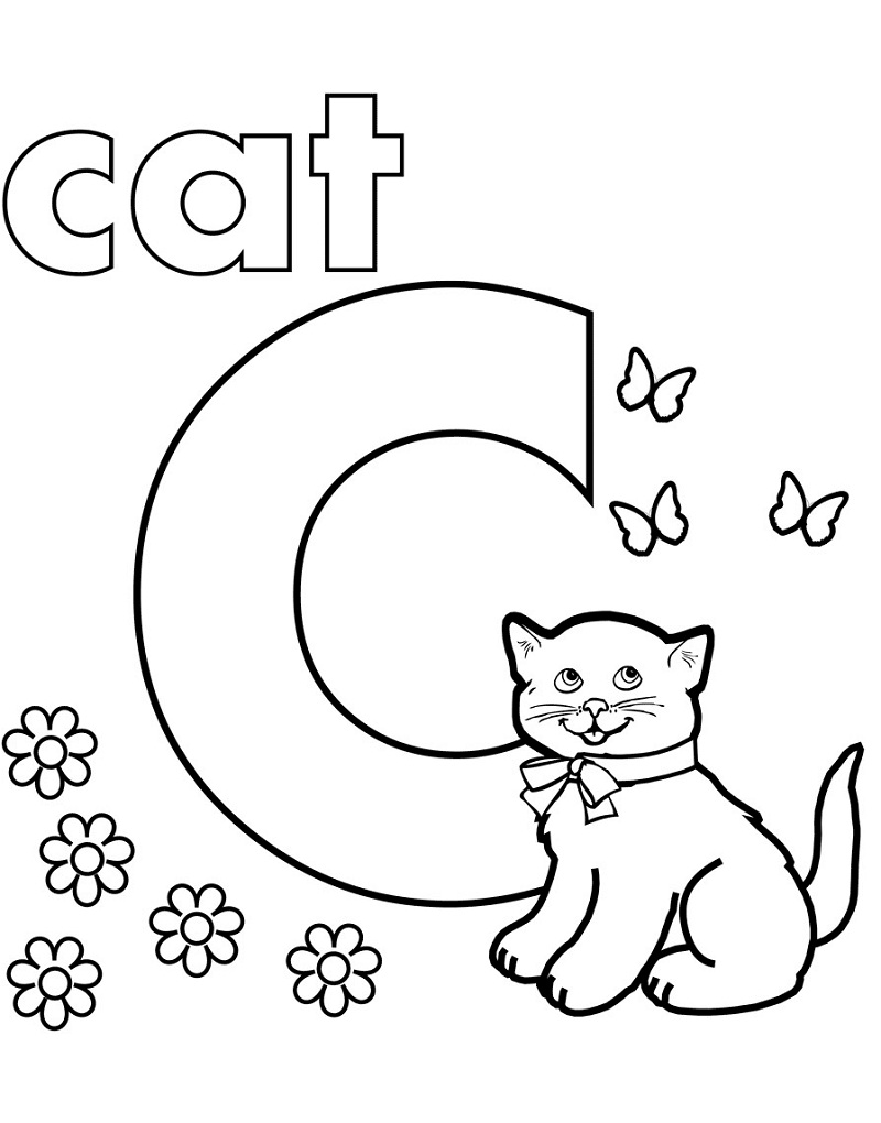 Top 20 Printable Letter C Coloring Pages
