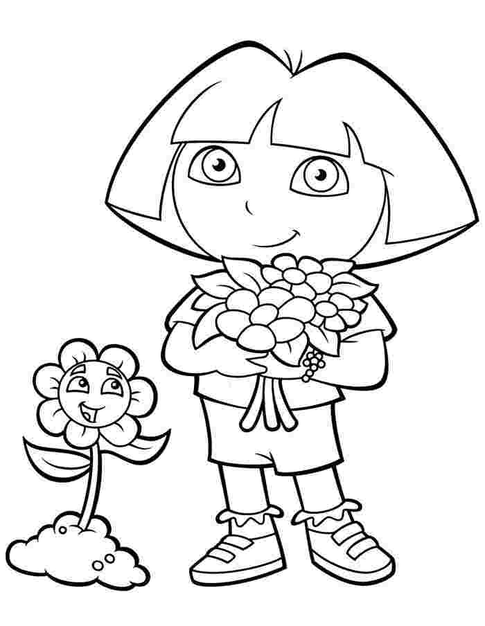 Top 20 Printable Dora The Explorer Coloring Pages Online Coloring Pages