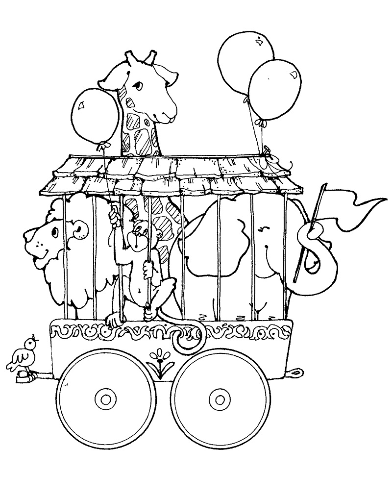 Top 20 Printable Circus Coloring Pages Online Coloring Pages