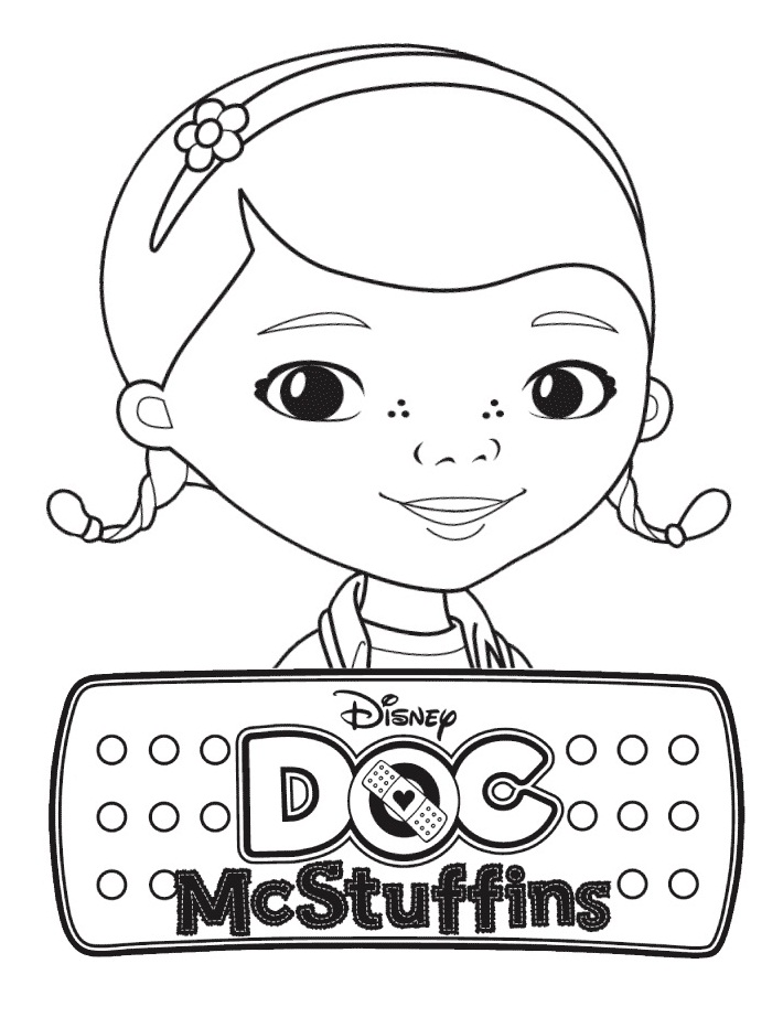 Top 20 Printable Doc McStuffins Coloring Pages