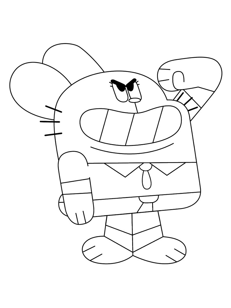 Top 20 Printable Gumball Coloring Pages - Online Coloring ...