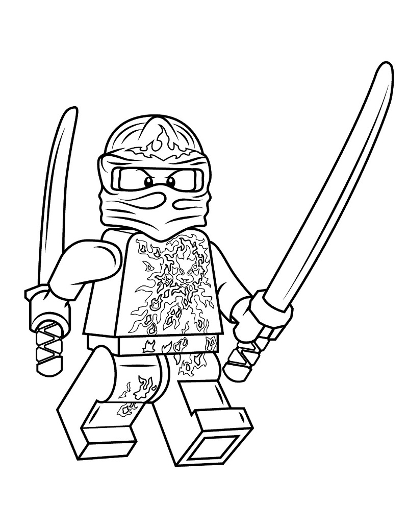 Top 20 Printable Ninjago Coloring Pages