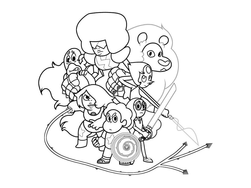 Top 20 Printable Steven Universe Coloring Pages