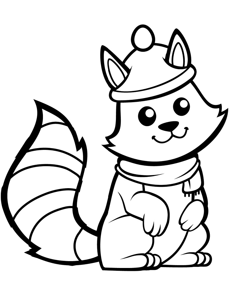 Top 20 Printable Squirrel Coloring Pages - Online Coloring ...