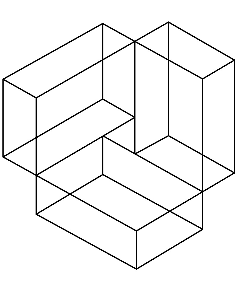 Top 20 Printable Optical Illusion Coloring Pages