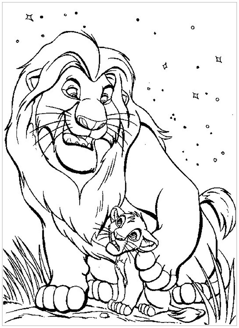 Top 20 Printable The Lion King Coloring Pages Online Coloring Pages