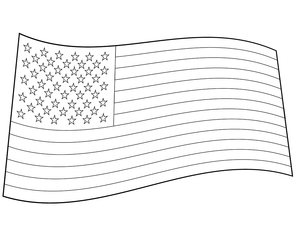 Top 20 Printable United States Coloring Pages
